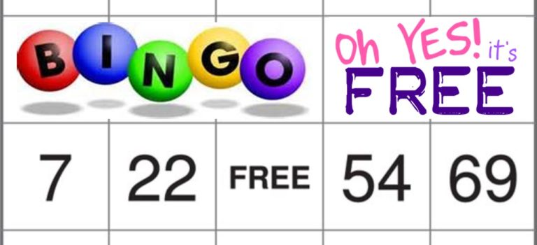 LET'S PLAY BINGO!!!!  2ND TUESDAY OF THE MONTH