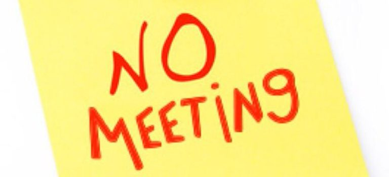 The Board of Directors and Executive Session Have Been Canceled For This Month.