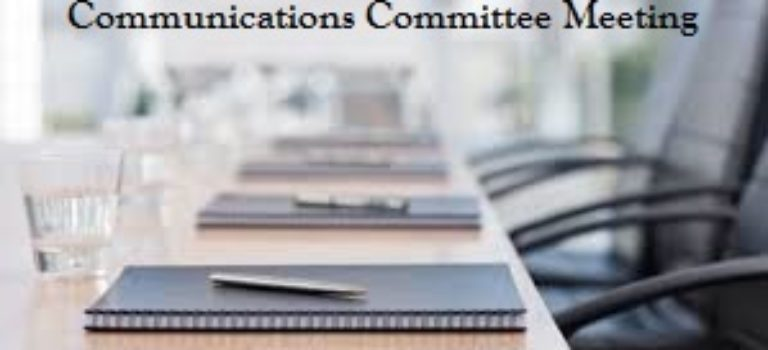 VWOA Communications Committee Meeting Canceled for October