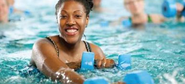 AQUA FITNESS CLASSES AT THE SPORTS PARK POOL