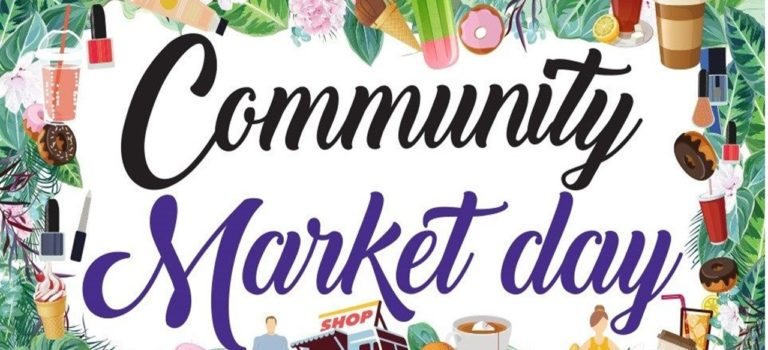 REMINDER COMMUNITY MARKET DAY – SATURDAY, JULY 14TH (9 AM TO 1 PM)