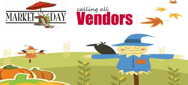 Community Market Day – October 13, 2018 (8:00 am till 1:00 pm)