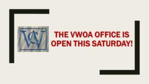 Office Open on Saturday