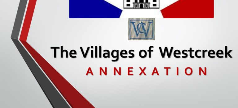ANNEXATION COMMUNITY MEETINGS