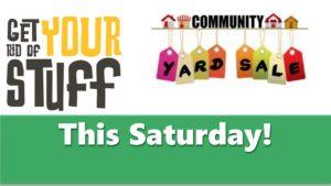 COMMUNITY YARD SALE @ See Community Yard Sale Listing below for properties