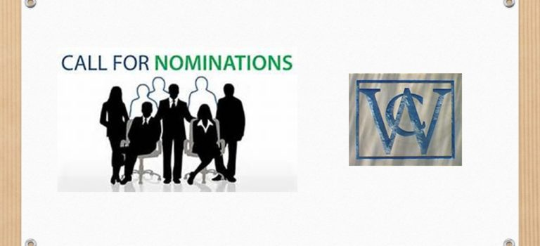 NOMINATION CALL FOR VWOA BOARD OF DIRECTORS