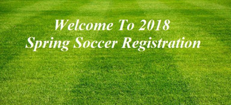VWOA-Spring Soccer Registration for 2018