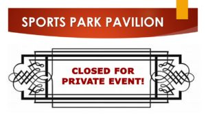 Sports Park Pavilion Private Event Rental