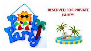 2019 COMMUNITY CENTER-Pool Private Party Hours: 8pm till 10pm @ COMMUNITY CENTER POOL