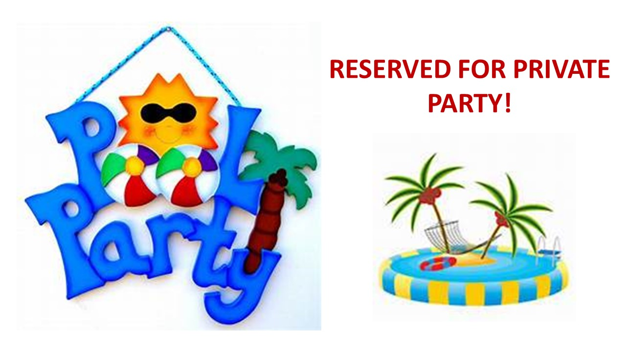 COMMUNITY CENTER POOL – PRIVATE PARTY 7pm-10pm @ COMMUNITY CENTER POOL