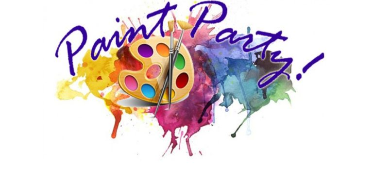HALLOWEEN THEME PAINT PARTY – OCTOBER 18th @ 5 pm