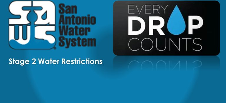 STAGE 2 WATER RESTRICTIONS EFFECTIVE JUNE 12, 2018