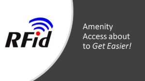 Reminder:  RFID Cards are being issued today! @ VWOA Community Center