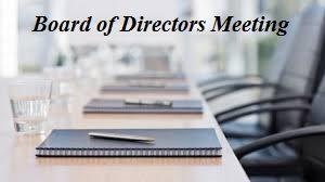 VWOA Board of Directors Meeting @ Meeting to be held via Zoom