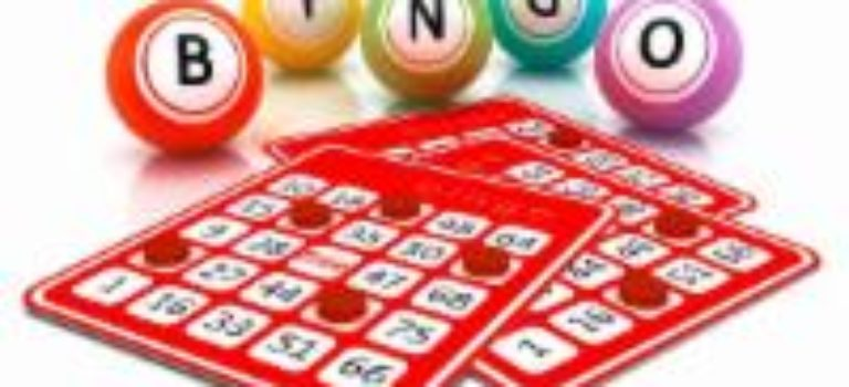 LET'S PLAY BINGO – TUESDAY, JUNE 4TH AT 1 PM