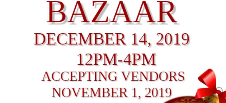ATTENTION ALL VENDORS – WESTCREEK CHRISTMAS BAZAAR – DECEMBER 14th