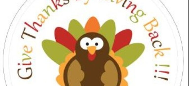 NEW BEGINNINGS CHILDRENS HOME THANKSGIVING FOOD DRIVE
