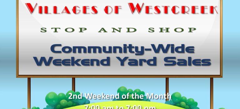 Community Yard Sale Listing for September 11-12, 2021!